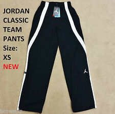 NEW XS Original Nike Jordan Classic Team Mens Pants Trousers Track Black