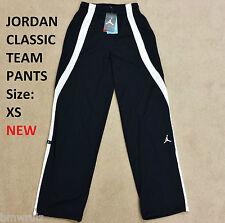 NEW XS Original Nike Jordan Classic Team Mens Pants Trousers Track Black