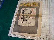 AVATAR Mel Lyman: vol 1 #18 feb 2-Feb 15, 1968 , SCARCE Cult commune w 2 section