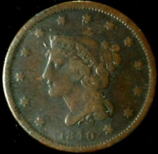 1840 Us Braided Hair Large Cent