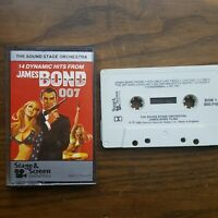 14 Dynamic Hits From James Bond 007 Cassette Tape The  Sound Stage Orchestra