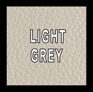 60ml Light Grey Leather & Vinyl Pigment Dye Colourant Restore Repair Worn Faded