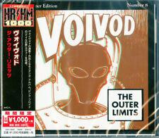 Voivod - The Outer Limits CD - SEALED Thrash Metal Album W/ OBI STRIP - JAPANESE