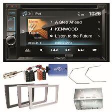 Kenwood DDX-4017DAB Bluetooth CD USB Einbauset für Opel Corsa C Omega B Vectra C