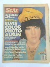 Vintage Old Apr 10 1979 The Star Newspaper Elvis Color Photo Album 5th Bd Issue