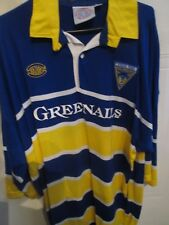 """1999-2000 Warrington Wolves Rugby League Home Shirt adult 46-48""""  (16026)"""