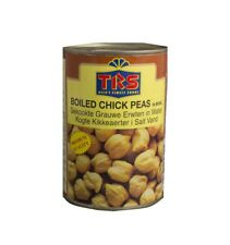 TRS chiches 400 g en eau Boiled CHICK PEAS gesottene