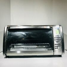 Black+Decker Extra Large Stainless Steel Countertop Convection Toaster Oven [FF4