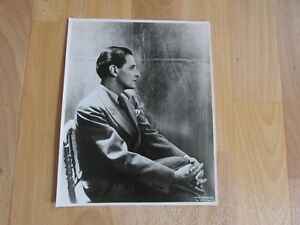 Original Ivor NOVELLO Welsh Actor Photo from a Cecil Beaton Photograph #1
