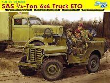 1/35 British SAS 1/4 Ton 4x4 Truck ETO - Smart Kit ~ Dragon DML #6725