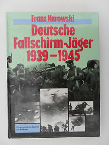 """3278 WW2 """" THE HISTORY of the GERMAN PARATROOPER1939-45 """" reference book 1980s"""