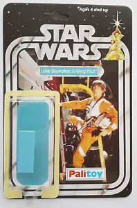 1979 PALITOY LUKE X WING PILOT 20 BACK RESTORE KIT SELF ADHESIVE HOME YOUR TOY
