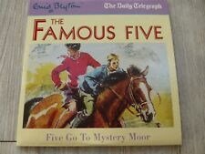 ENID BLYTON FAMOUS FIVE GO TO MYSTERY MOOR PROMO AUDIO BOOK CD