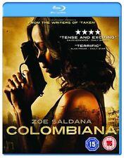 COLOMBIANA avec Zoe Saldana de Luc Besson FREE Postage - mmoetwil@hotmail.com