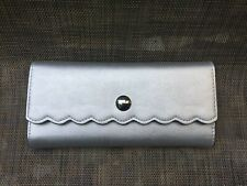 Catherine Malandrino Pink Scallop edge clutch style wallet