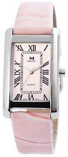 Rosa Markenlose Armbanduhren aus Kunstleder