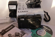PANASONIC LUMIC DMC TZ60, BOXED, with SPARE BATTERY, CHARGER. EXCELLENT.