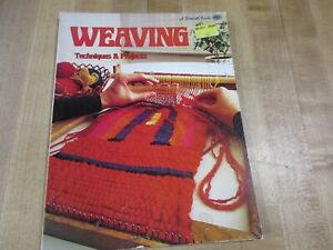 Weaving Techniques & Projects a Sunset Book 1975 paperback (b)
