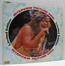 BON JOVI interview picture disc LP VG+/VG+, BAK 2022, vinyl, limited edition, uk