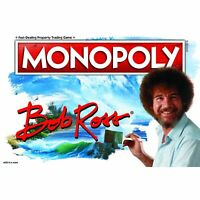 MONOPOLY Bob Ross Edition Board Game HP058 HASBRO Officially Licensed NIB/Sealed