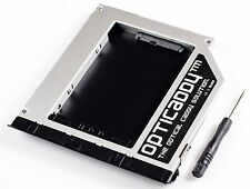 Opticaddy SATA-3 HDD/SSD Caddy+façade pour Dell Latitude E6520