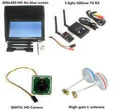 FPV System 5.8G 600mw TS832 and RC832 Plus Monitor and camera For Racing drone