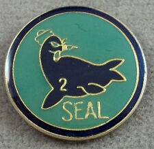 US Navy Seal Team 2 Pin  / Clutchback / Style A