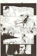 Gambit #9 p.15 - Gambit vs. Zombies - 2005 Signed art by Georges Jeanty