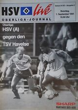 Programm 1991/92 Hamburger SV Am. - TSV Havelse