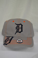 NEW Detroit Tigers Baseball Hat MLB Fan Favorite Cap Adjustable Memorabilia Grey