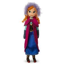 "Disney Frozen Plush Soft Stuffed Doll Toy Anna 20"" tall"