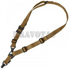 Magpul MAG514 Coyote Brown MS3 Sling GEN-2 1/2-Point System Tactical Mount Strap