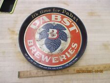 Rare Early Pabst Blue Ribbon Beer Tray, It's Time For Pabst, Pabst Breweries,