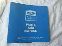 1982-1984 Ford tractor service bulletins manual