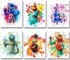 Battle Royale Video Game Themed Wall Art Print Poster Fortnite 6 8x10 New
