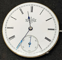 Elgin Grade 95 Pocket Watch Movement 6s 7j Hunter Model 1 Ticking F5510