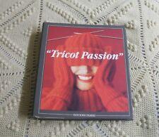 """LOT- 2 Classeurs """"TRICOT - PASSION"""" - Tous les points-80 modèles-Editions FABBRI"""