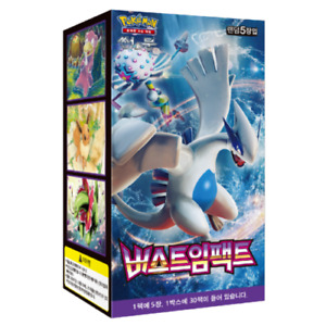 "Pokemon Card ""Burst Impact"" Booster Box (Korean Ver.)"