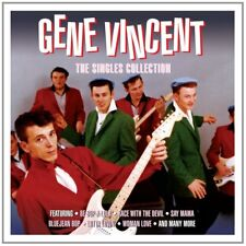 Gene Vincent Singles Collection 3-CD NEW SEALED Be-Bop-A-Lula/Bluejean Bop+
