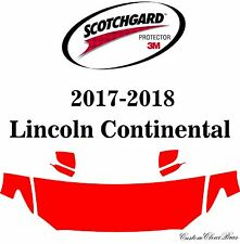 3M Scotchgard Paint Protection Film Clear Bra 2017 2018 Lincoln Continental
