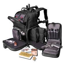 G.P.S. Tactical Range Backpack with 3 Internal Handgun Cases & Magazine Storage