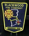 Blackwood, New Jersey Fire Company, Station 84 Patch.