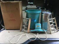vintage sears coldspot electric ice cream maker