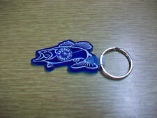 ARIZONA GAME & FISH Fish Shaped Keyring Key Ring