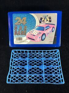 Vintage 24 Car Case # 20150  Tara Toy Case  Hot Wheels Matchbox Die Cast Holder