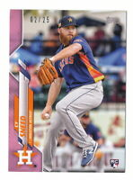 CY SNEED RC 2020 TOPPS MINI PINK PARALLEL #02/25 HOUSTON ASTROS #U-224 ROOKIE