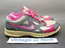 Girls Nike Advantage Runner 2 Grey Pink Silver Running Shoes 525439-002 PS sz 2Y