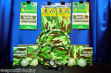 Camoflage Party Set # 24 Army Camo Party Supplies 24 Dog Tags for Favors