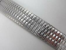 """Rowi Fixo-Flex Stainless Steel 22mm 7/8"""" Mens Vintage Watch Band Strght Expansn"""