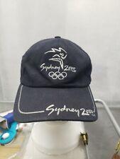 Vintage Sydney Olympics 2000 Hat Black IOC VTG